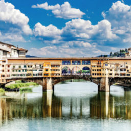 Florence Bridge cities in Italy to visit