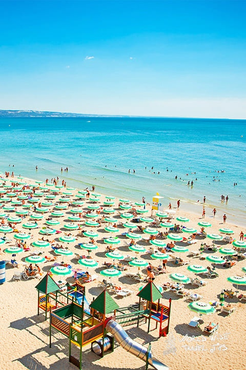 Golden Sands Bulgaria beach 10 best beaches in Bulgaria