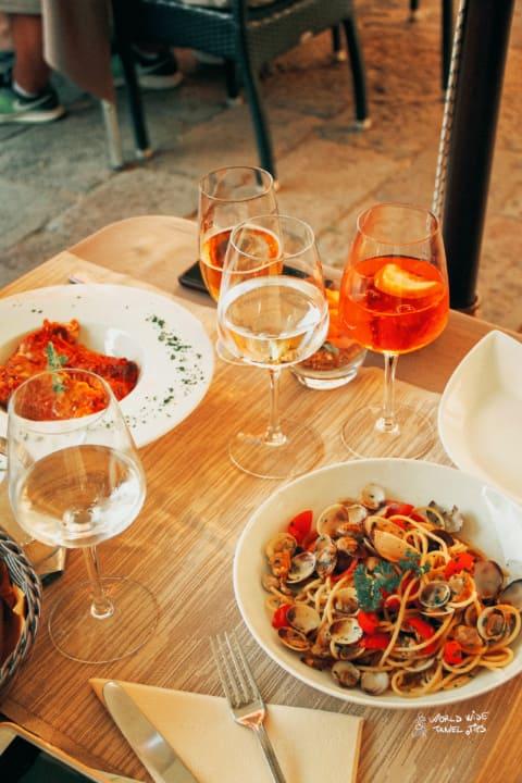 Italian tasty food city of Venice Aperol Italy