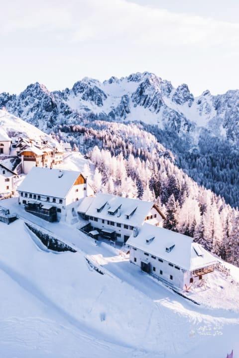 Italy Tarvisio Monte Lussari Italian Alps
