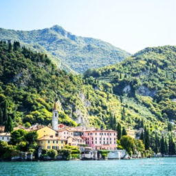 Airport near Lake Como Italy Water