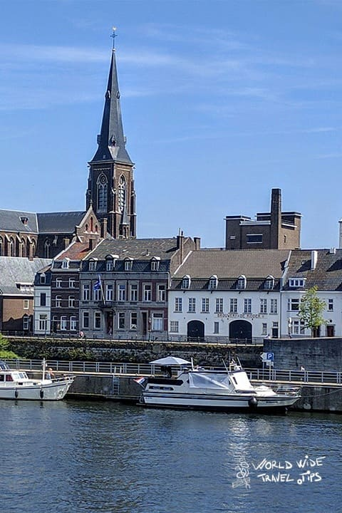 Maastricht Netherlands city river view