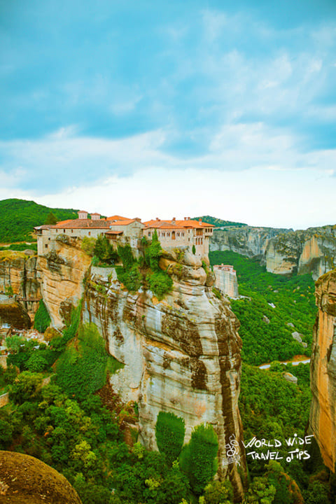 Meteora best places to visit in Greece, hidden places to visit in Greece