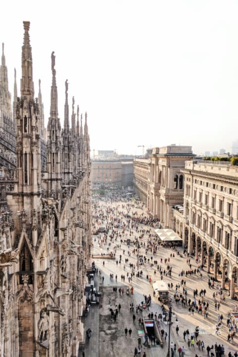 Milan Italy PIazza del Duomo  best cities of Italy to visit