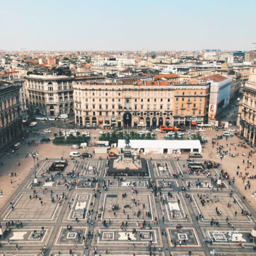Milan Piazza Milano top cities in Italy