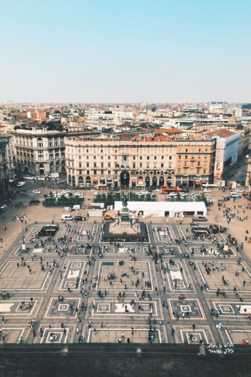 Milan Piazza Milano top cities of Italy
