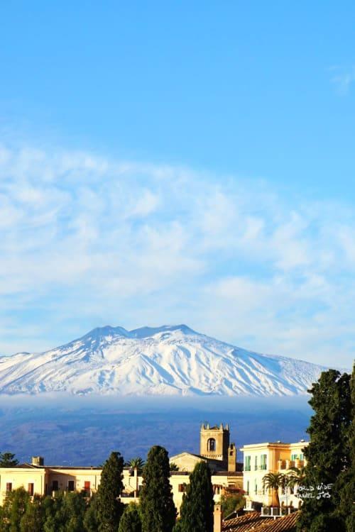 Mount Etna Sicily Volcano Italy