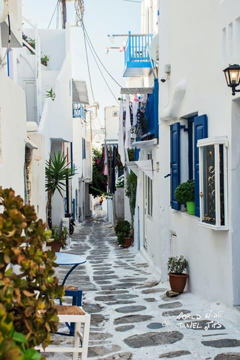 Mykonos Beach Greece Greek Town