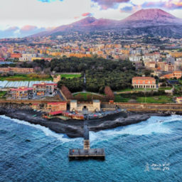 Naples Vesuvius Italy