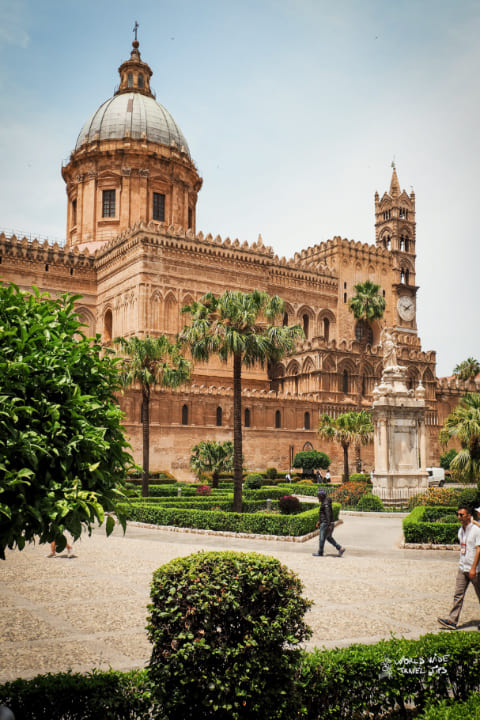 Palermo Cathedral of Palermo cities in Italy by population