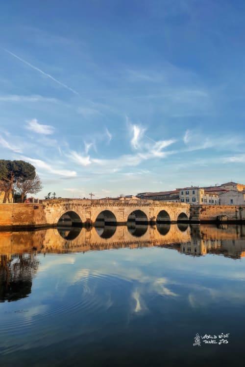 Rimini Italy Ponte di Tiberio