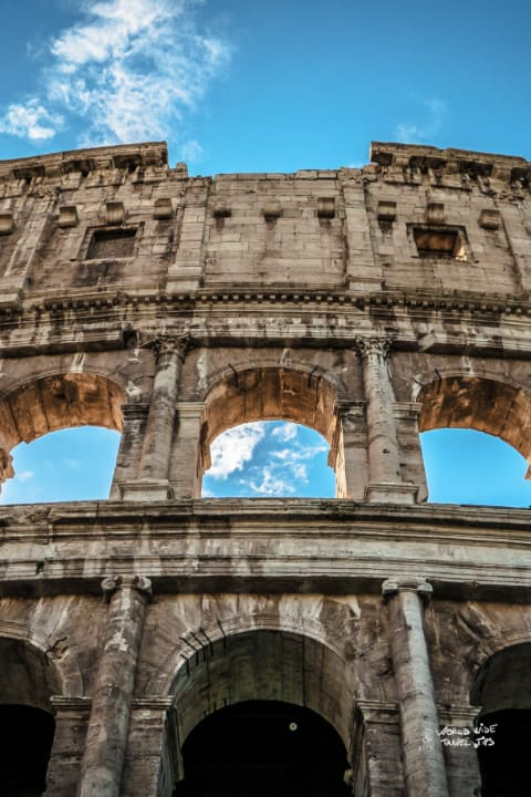 Rome Italy Colloseo Roman Empire