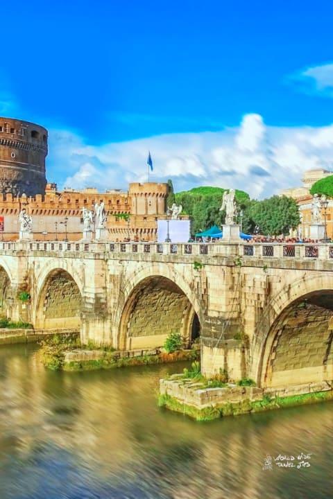 Rome Italy Santangelo Castle