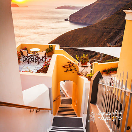Top place to visit in Greece Santorini Greece Fira