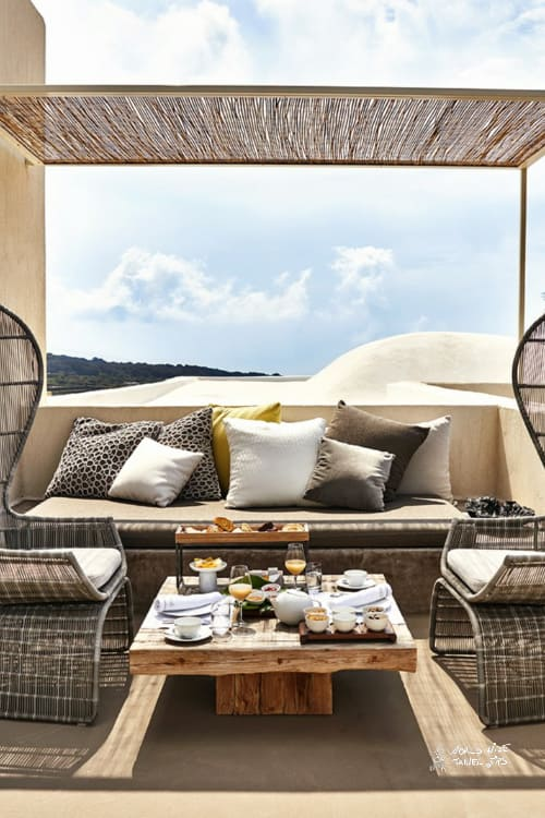 Sikelia Luxury Hotel terrace stunning view