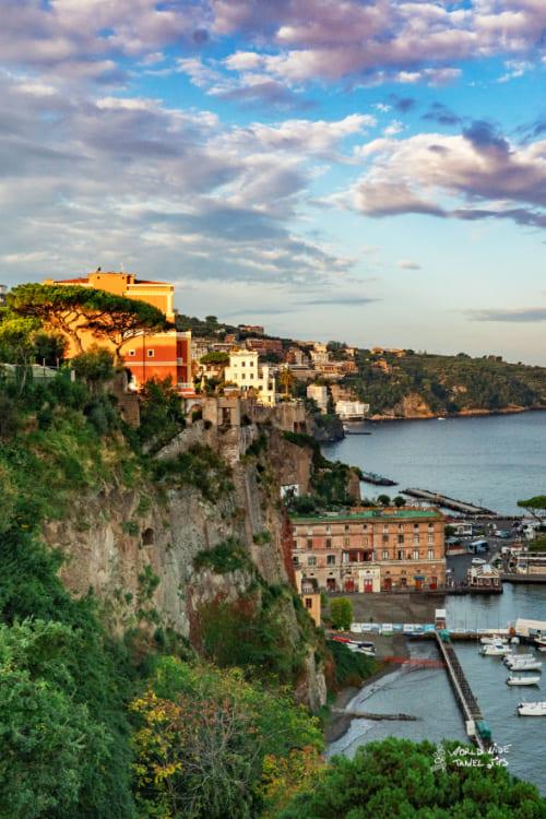 Sorrento Italy city on the coast