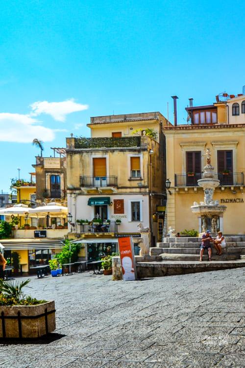 Taormina Sicily Town Italy
