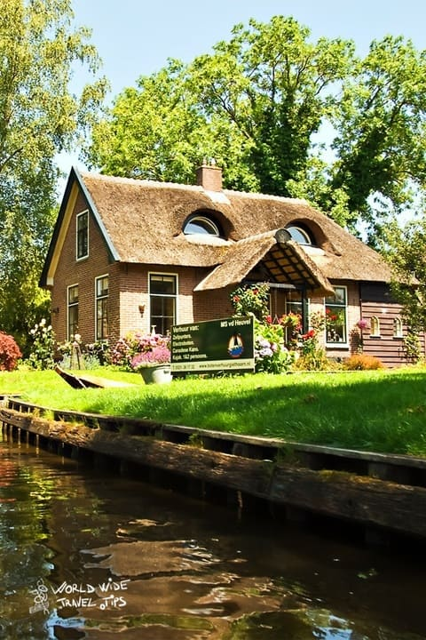 The Netherlands Countryside Giethoorn Village