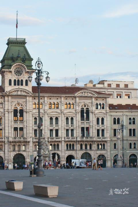 Trieste Italy Town Hall Piazza Architecture Cities North East Italy