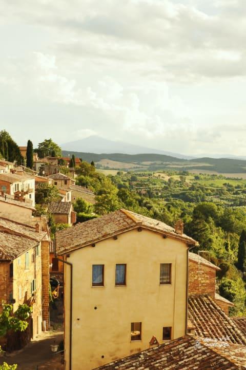 Tuscany Italy Buildings