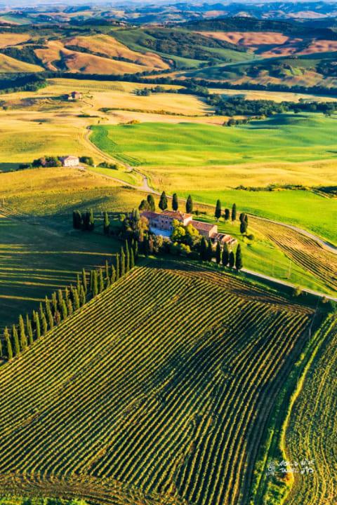 Tuscany Italy Green Hills