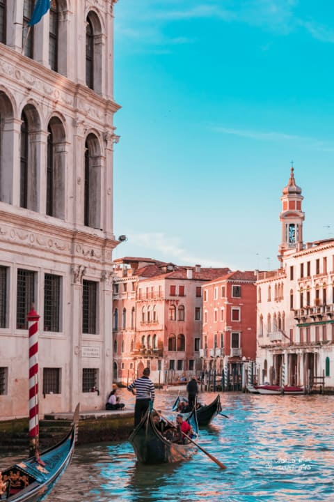 Venice Italy Gondola cities of Italy to visit
