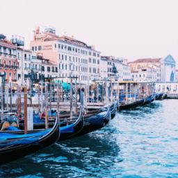 Venice to Cinque Terre Italy Gondolas