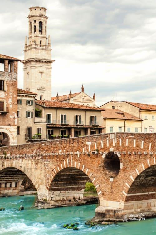 Verona Bridge top cities in Italy