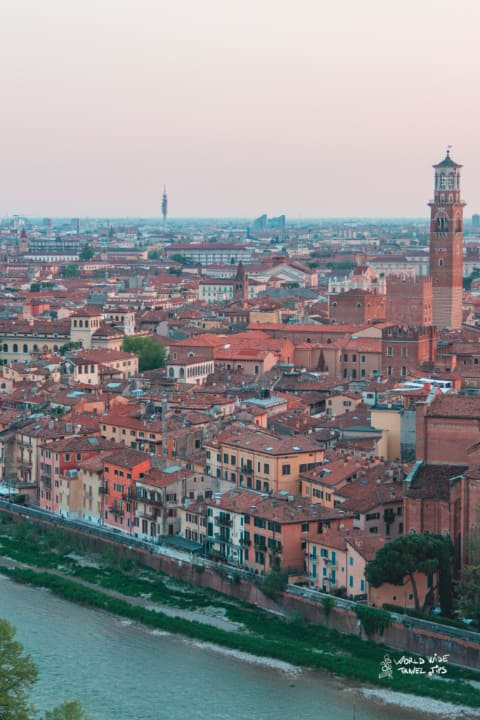Verona Italy Castel San Pietro Castle