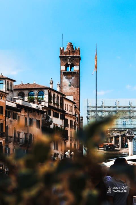 Verona Italy Piazza Erbe North East Italy cities