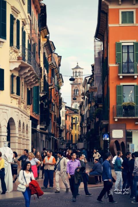 Verona Italy Streets cities in Italy list