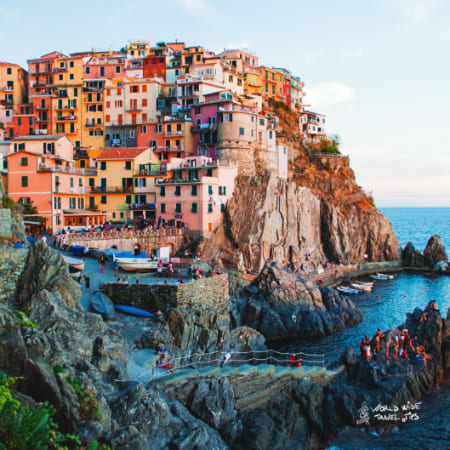 Visit Italy cinque terre view
