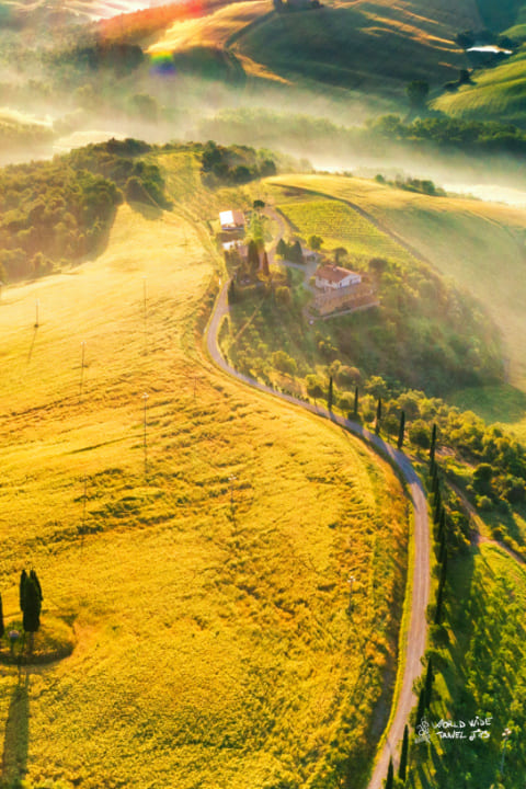 visit Italy countryside