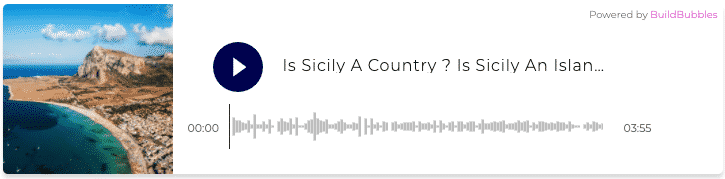 Audio Is Sicily a Country Is Sicily an Island