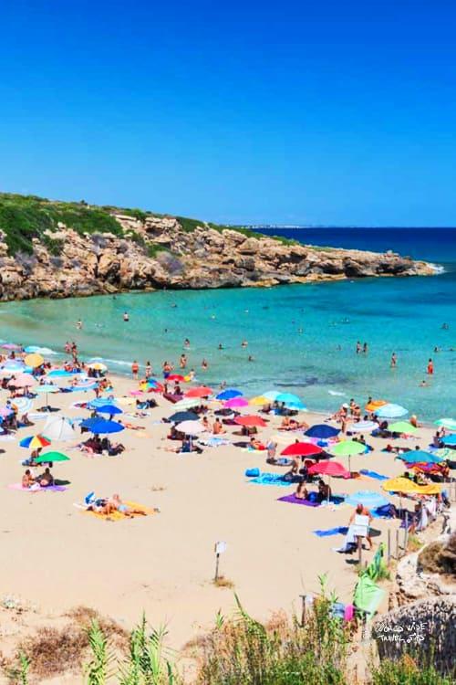 Calamosche Beach Sicily Italy