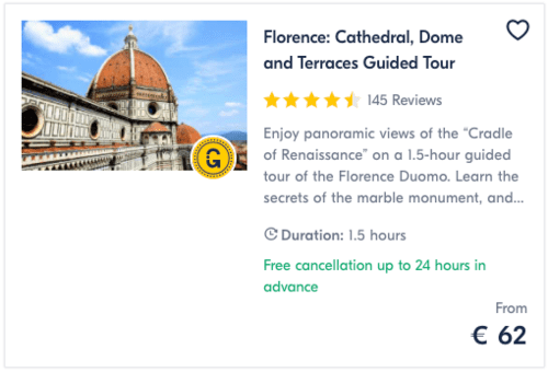 Florence Cathedral Dome and Terraces Guided Tour