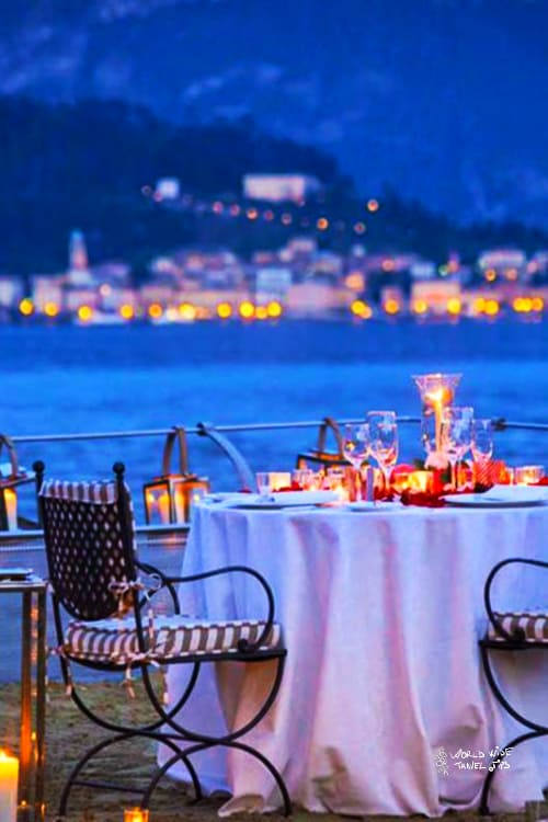 Grand Hotel Tremezzo Romantic Dinner by the lake