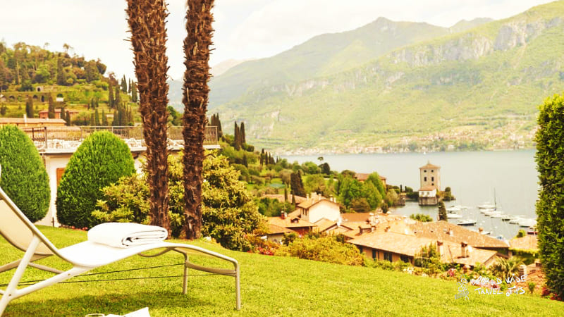 Hotel Belvedere Lake Como beautiful view