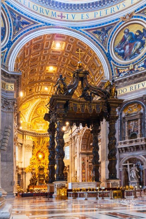 Inside Vatican Church