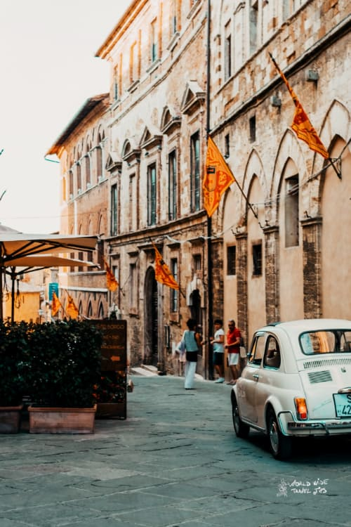 Italy road trip by car rental