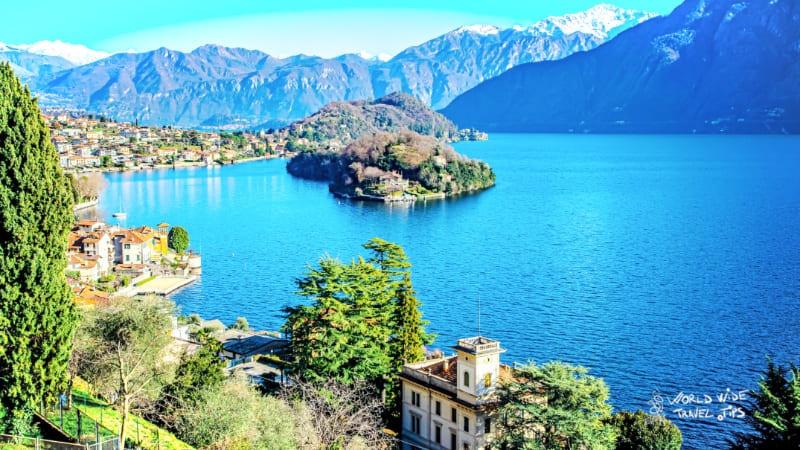 Lake Como Italy Mountains