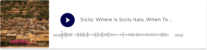 Podcast Where is Sicily in Italy