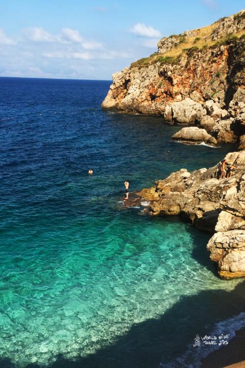 San Vito lo Capo Sicily Beach