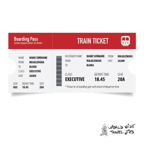 Eurostar London to Paris Train Ticket