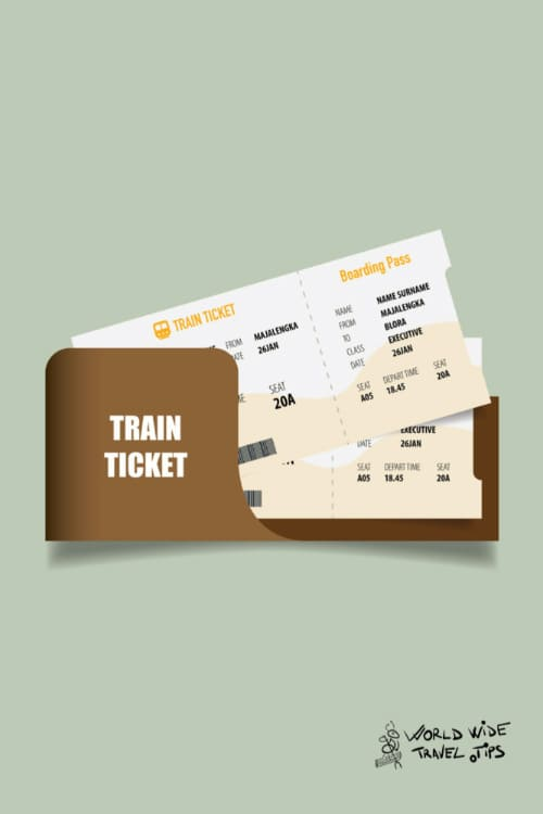 Train Ticket from Amsterdam Schiphol Airport to Amsterdam City Center