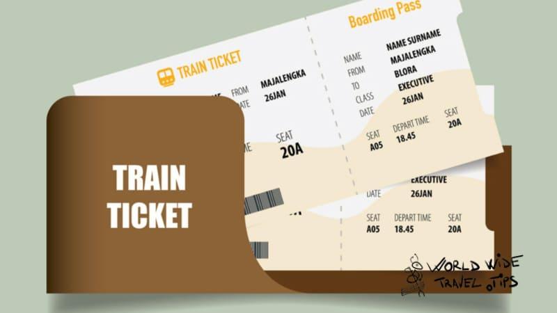 Schipol Airport to Amsterdam Train Ticket