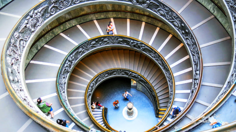 Vatican City staricase