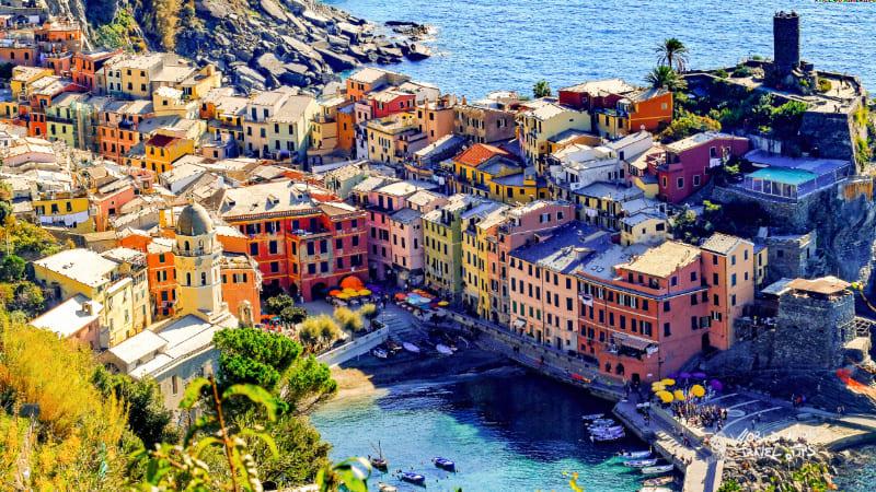 Vernazza Cinque Terre Italy Town