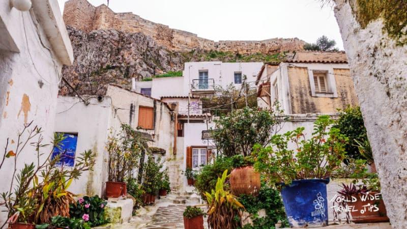 Anafiotika Athens Greece