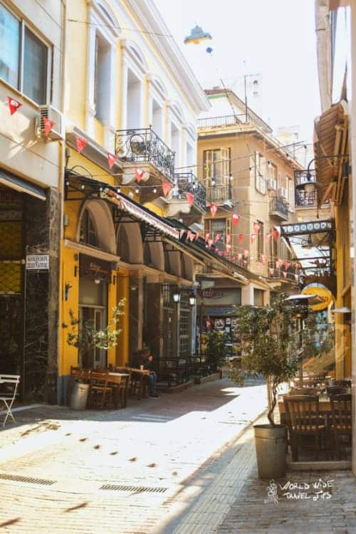 Athens Streets 5 days in Athens